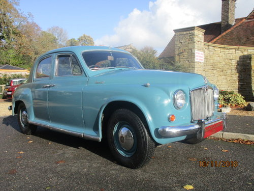 1955 Rover P4 90 Saloon (Card Payments Accepted) SOLD (picture 1 of 6)