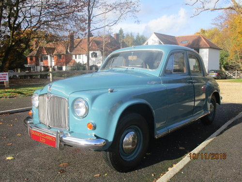 1955 Rover P4 90 Saloon (Card Payments Accepted) SOLD (picture 2 of 6)
