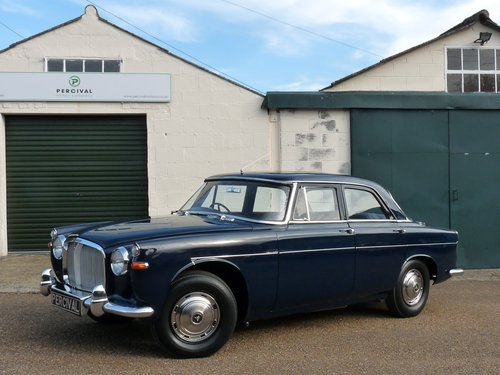 1962 Rover 3.0 litre Mk1a, 16,000 miles, Sold SOLD (picture 1 of 6)