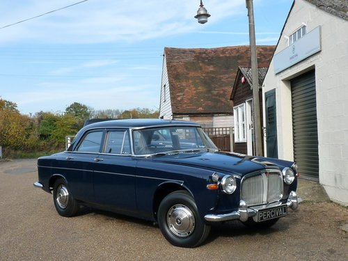 1962 Rover 3.0 litre Mk1a, 16,000 miles, Sold SOLD (picture 5 of 6)