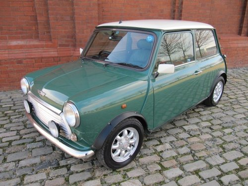 INVESTABLE CLASSIC 2001 MINI COOPER 1300 * ONLY 28500 MILES SOLD (picture 1 of 6)