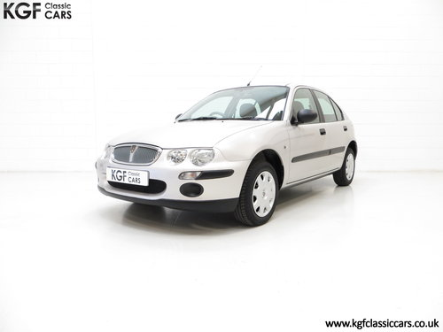 2001 A Time Capsule Rover 25iE 16v with an Incredible 6,682 Miles SOLD (picture 2 of 6)