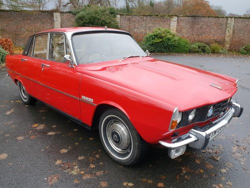 **REMAINS AVAILABLE** 1972 Rover 2000 P6 SOLD by Auction (picture 1 of 1)