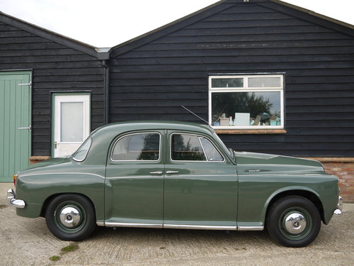 1959 ROVER P4 100 - BEAUTIFUL CAR WITH INTERESTING HISTORY !! SOLD (picture 2 of 6)