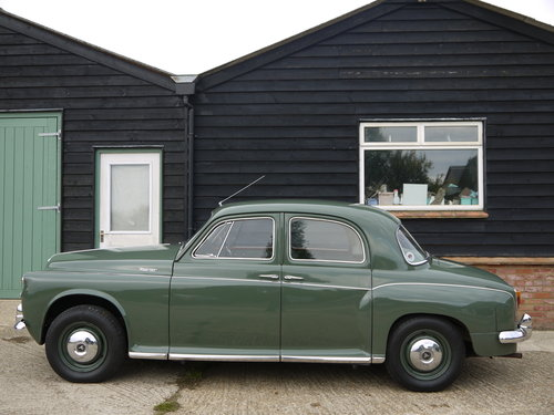1959 ROVER P4 100 - BEAUTIFUL CAR WITH INTERESTING HISTORY !! SOLD (picture 3 of 6)