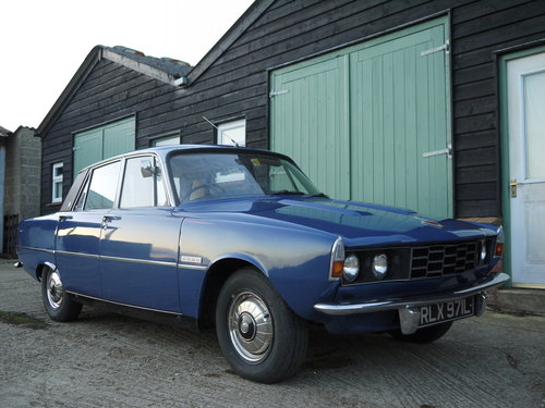1973 ROVER P6 2000SC AUTOMATIC, 58,000 MILES FROM NEW !! SOLD (picture 1 of 6)