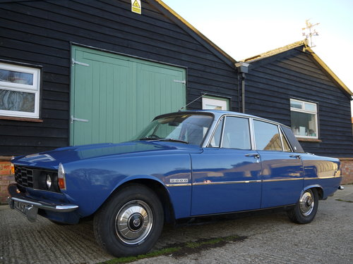 1973 ROVER P6 2000SC AUTOMATIC, 58,000 MILES FROM NEW !! SOLD (picture 2 of 6)
