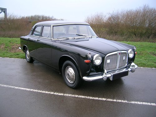 1965 Rover P5 3 Litre Automatic Saloon Historic Vehicle  For Sale (picture 3 of 6)