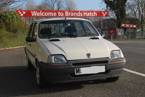 Mint Low Mileage 1994 Metro 1.4 GTa New MOT For Sale (picture 1 of 6)