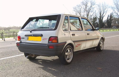 Mint Low Mileage 1994 Metro 1.4 GTa New MOT For Sale (picture 3 of 6)