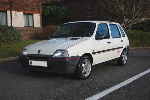 Mint Low Mileage 1994 Metro 1.4 GTa New MOT For Sale (picture 4 of 6)
