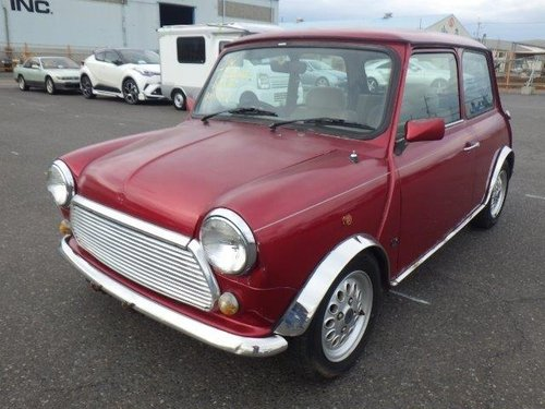 1997 ROVER MINI MODERN CLASSIC MAYFAIR 1300cc MANUAL LOW MILES  For Sale (picture 1 of 6)