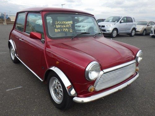 1997 ROVER MINI MODERN CLASSIC MAYFAIR 1300cc MANUAL LOW MILES  For Sale (picture 2 of 6)