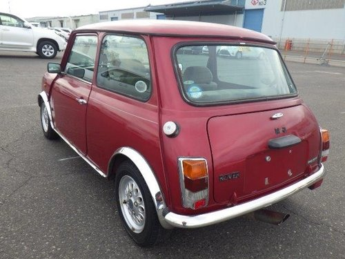 1997 ROVER MINI MODERN CLASSIC MAYFAIR 1300cc MANUAL LOW MILES  For Sale (picture 4 of 6)