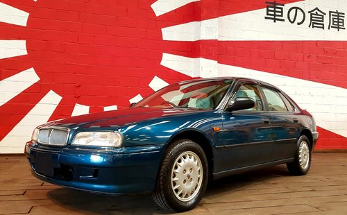 1995 ROVER 600 623 SLi AUTO HONDA 2.3 ENGINE * ONLY 5856 MILES SOLD (picture 1 of 6)