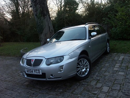 2005 ROVER 75 TOURER SE 2.0 CDTI SOLD (picture 1 of 6)