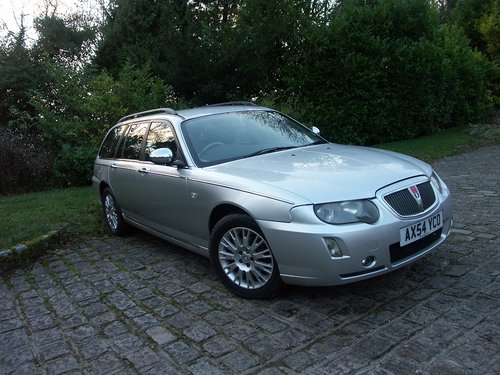 2005 ROVER 75 TOURER SE 2.0 CDTI SOLD (picture 2 of 6)
