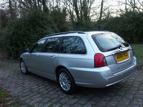 2005 ROVER 75 TOURER SE 2.0 CDTI SOLD (picture 4 of 6)