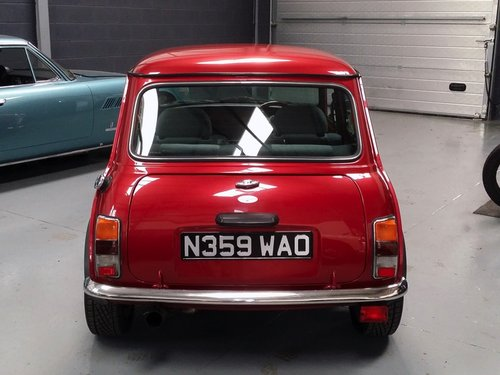 1995 Rover Mini Mayfair in exceptional condition. SOLD (picture 3 of 6)