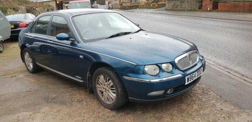 **REMAINS AVAILABLE** 2000 Rover 75 Club SE SOLD by Auction (picture 1 of 1)