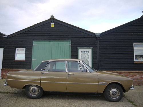 1973 ROVER P6 2000TC - LIGHT PROJECT - USE OR IMPROVE !! SOLD (picture 3 of 6)