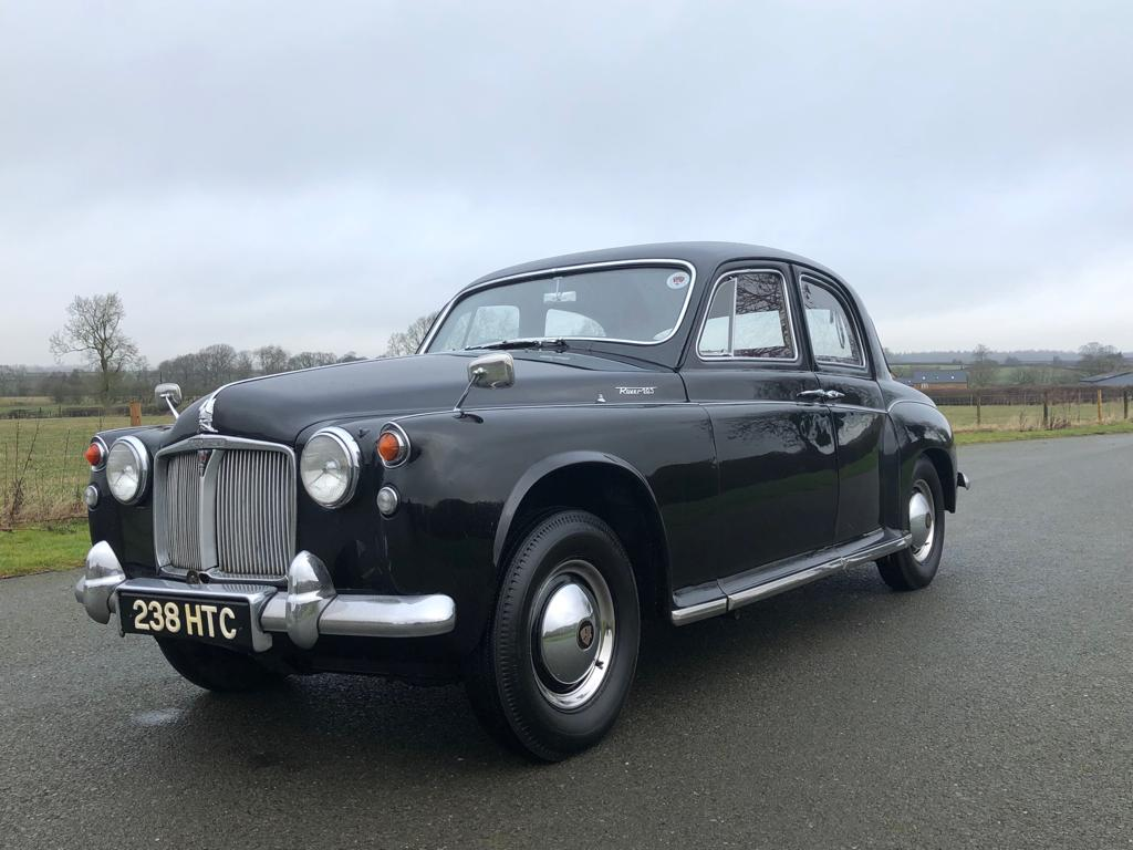 1959 Rover 105 P4 Saloon. Manual / Overdrive SOLD (picture 1 of 6)