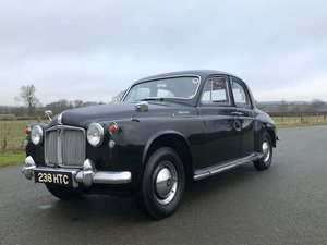 1959 Rover 105 P4 Saloon. Manual / Overdrive SOLD