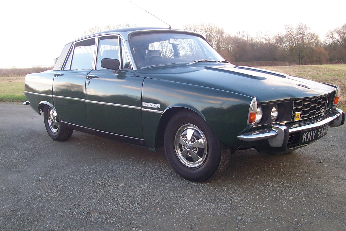 Rover 3500s, 1972,5 speed,good order,needs love! SOLD (picture 1 of 6)