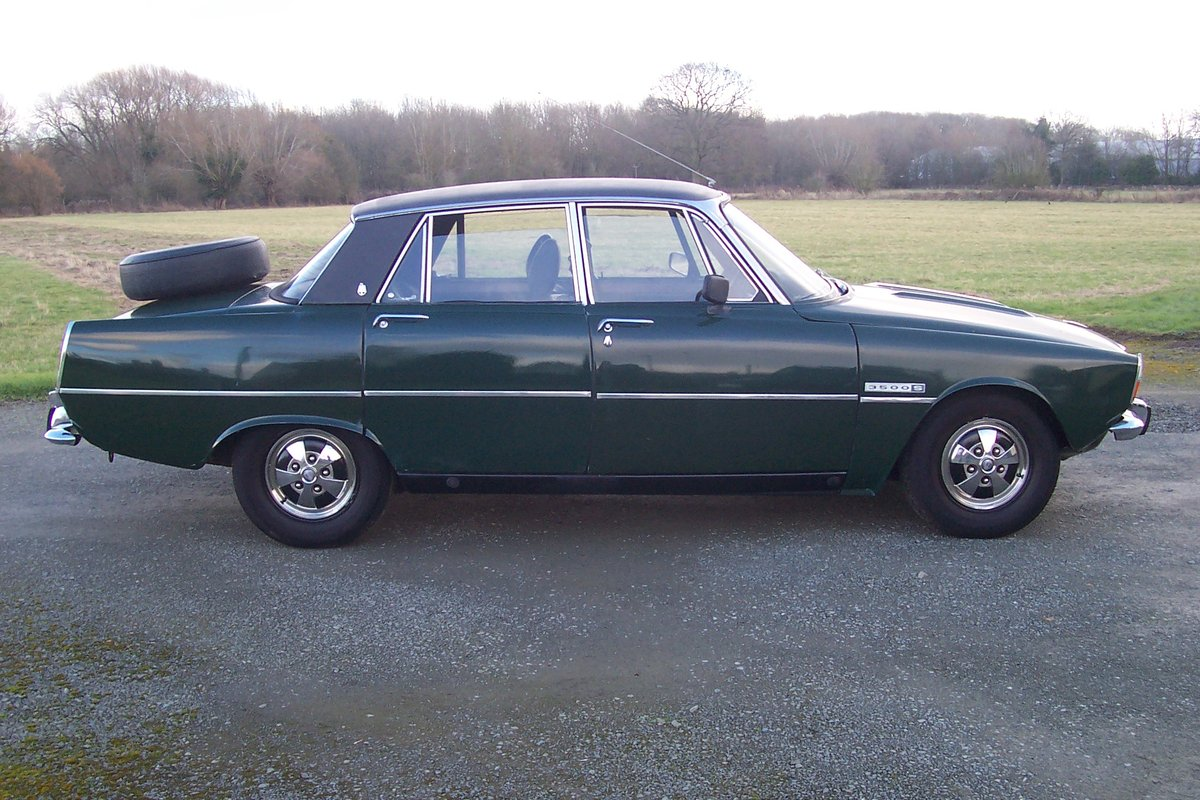 Rover 3500s, 1972,5 speed,good order,needs love! SOLD (picture 2 of 6)