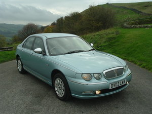 2003 03/03 Rover 75 2.0 CDTI Connoisseur 4dr. Manual. 70k Miles. SOLD