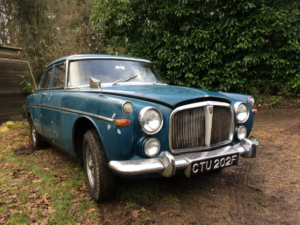 1968 Rover P5B Saloon For Sale (picture 1 of 6)
