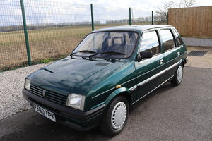 1989 Rover Metro 1.0L, 5 Door, 21000 miles only For Sale