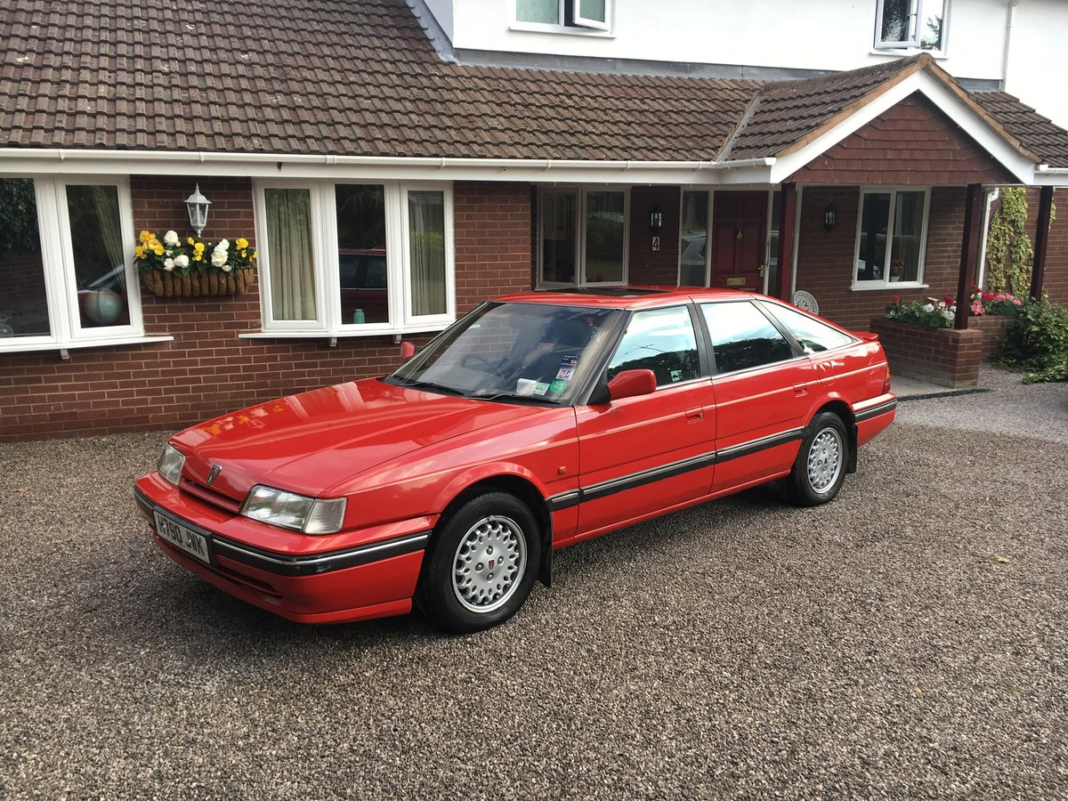 1990 Rover 827 SLi MK1  6 cylinder Honda engine Auto SOLD (picture 1 of 6)