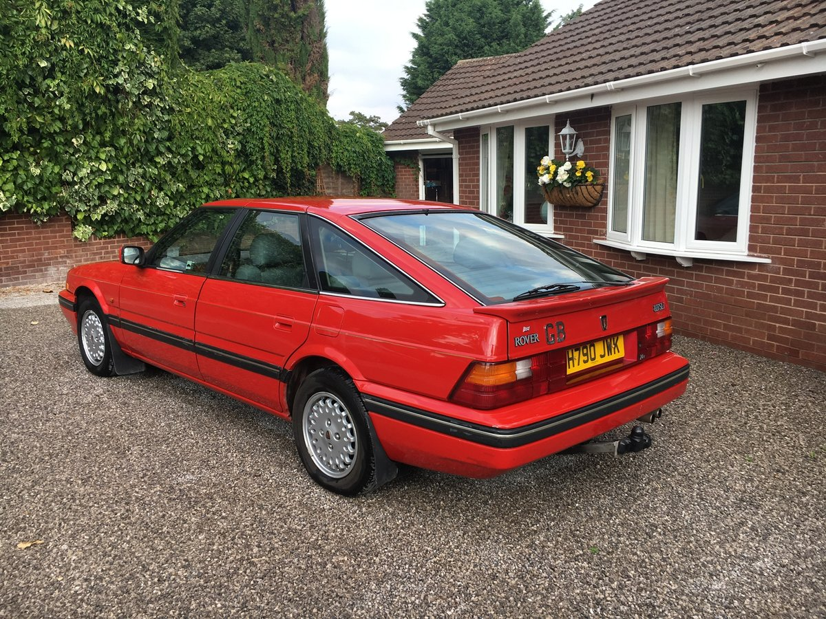 1990 Rover 827 SLi MK1  6 cylinder Honda engine Auto SOLD (picture 2 of 6)