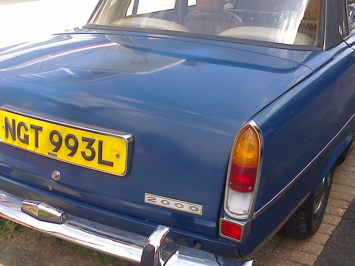 1972 ROVER P6 For Sale (picture 1 of 6)
