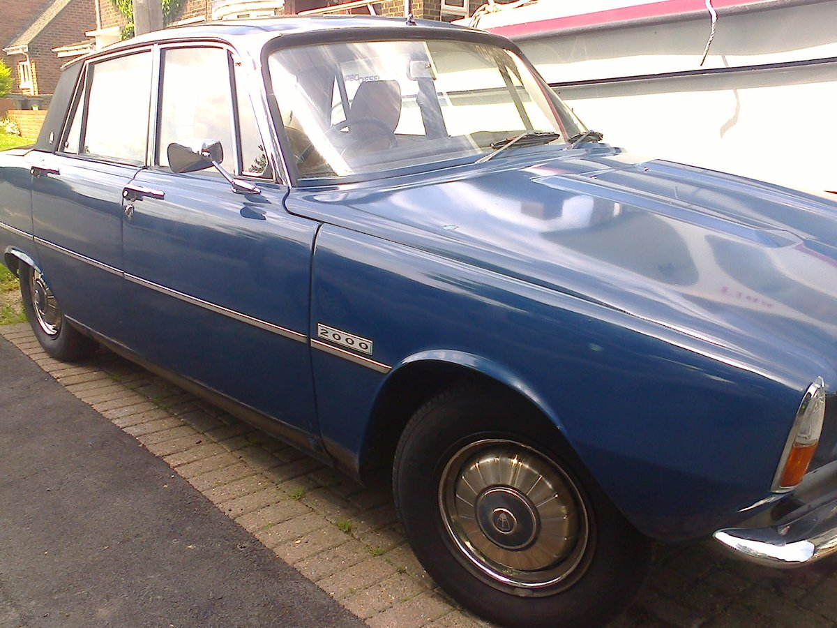 1972 ROVER P6 For Sale (picture 2 of 6)