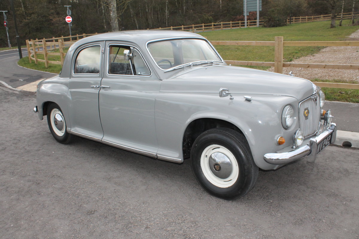 1955 Rover P4 75 Saloon  Lovely early example . 39,800 miles SOLD (picture 1 of 6)