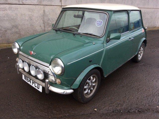 1996 Rover Mini Equinox At Morris Leslie Classic Auction 23rd Feb