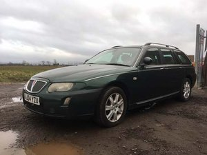 2004 Rover 75 Connoisseur T Tourer at Morris Leslie Auction SOLD by Auction