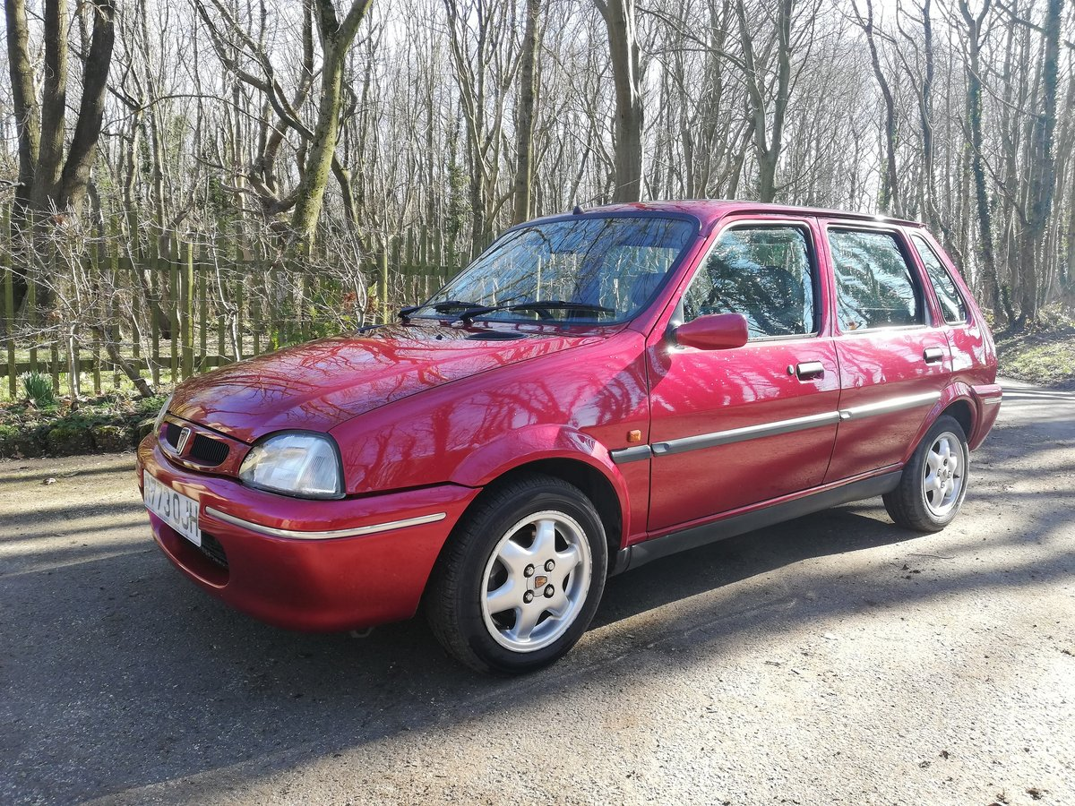 1998 Rover Metro 114 GSI SOLD (picture 1 of 6)