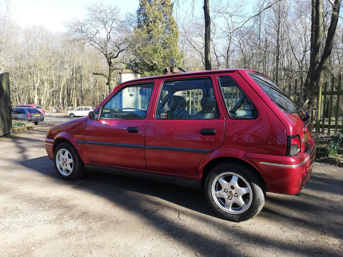 1998 Rover Metro 114 GSI SOLD (picture 3 of 6)