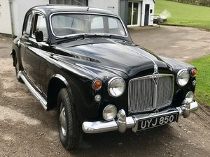1958 Rover 75 P4 - Current owner 24 years - much expenditure SOLD