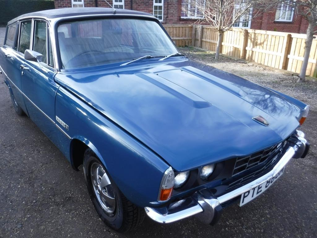 **MARCH AUCTION** 1974 Rover P6 Estate 3500S SOLD by Auction (picture 1 of 1)