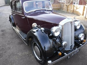 **MARCH AUCTION** 1939 Rover 10 P2 SOLD by Auction