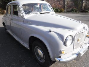 **MARCH AUCTION**1955 Rover 90 P4 SOLD by Auction