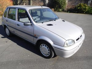 **REMAINS AVAILABLE** 1996 Rover Metro 114 SLi For Sale by Auction