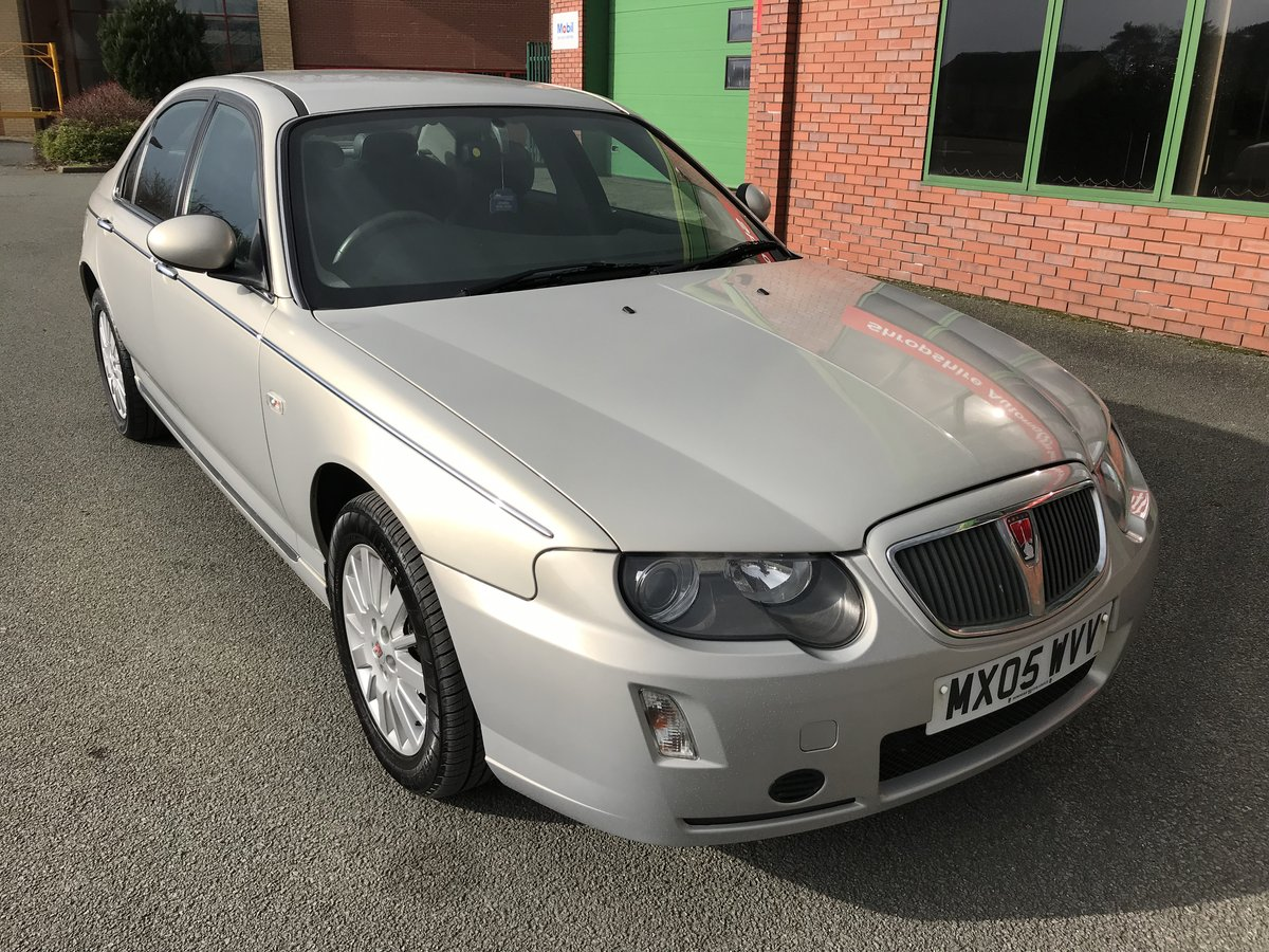 2005 RARE LOW MILEAGE ROVER 75 CDTi CLASSIC - LEATHER - 1 OWNER! For Sale (picture 1 of 6)