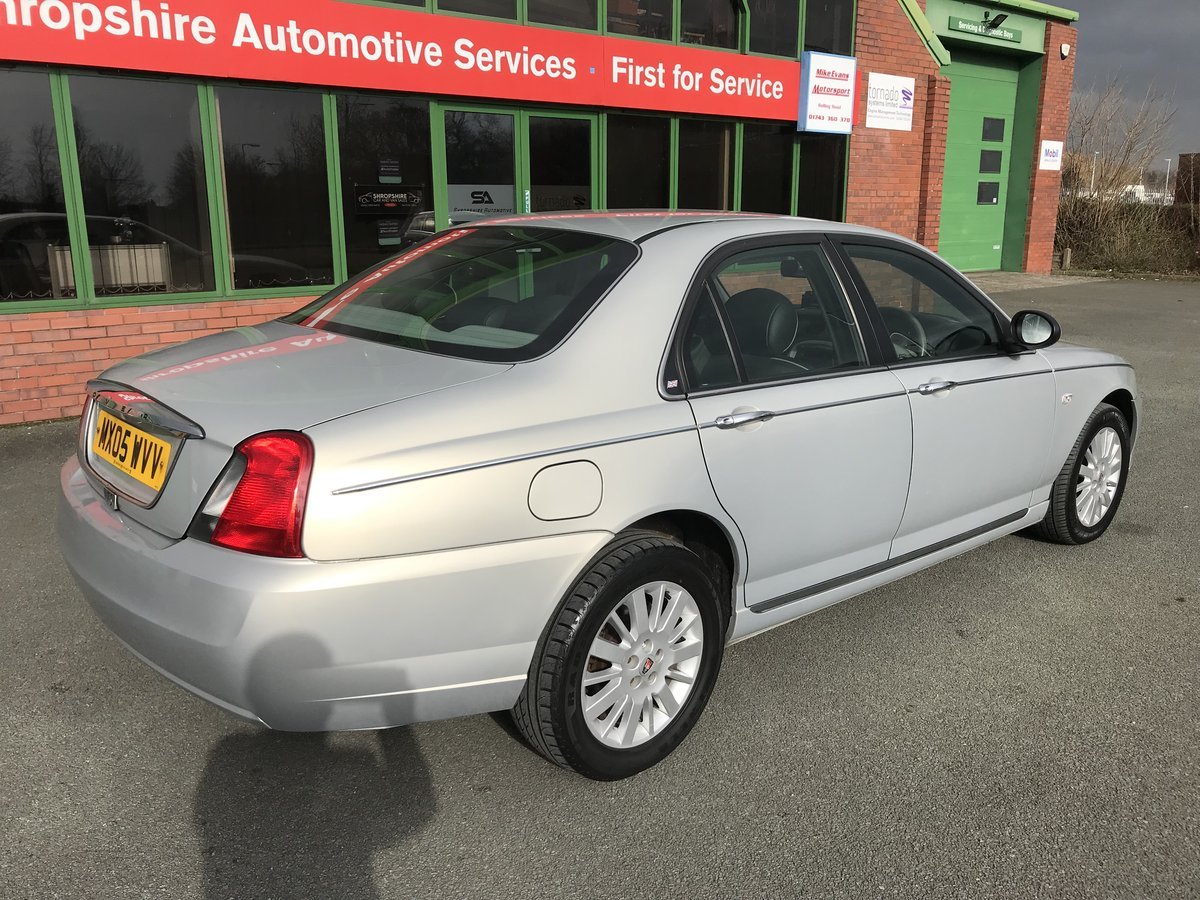 2005 RARE LOW MILEAGE ROVER 75 CDTi CLASSIC - LEATHER - 1 OWNER! For Sale (picture 2 of 6)
