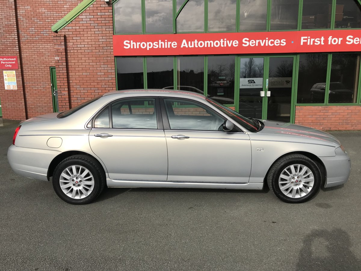 2005 RARE LOW MILEAGE ROVER 75 CDTi CLASSIC - LEATHER - 1 OWNER! For Sale (picture 3 of 6)