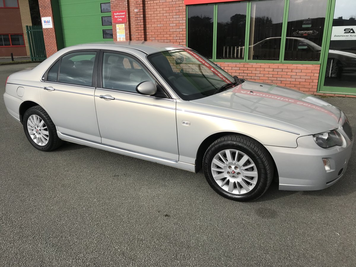 2005 RARE LOW MILEAGE ROVER 75 CDTi CLASSIC - LEATHER - 1 OWNER! For Sale (picture 4 of 6)